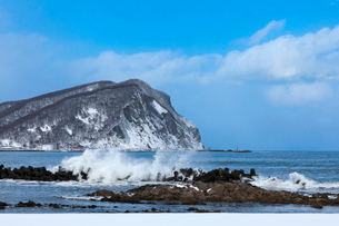 積丹半島の冬の写真素材 [FYI03444706]