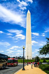 ワシントン記念塔(ワシントンDC)のイメージの写真素材 [FYI03444736]