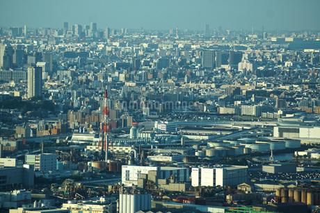 ランドマークタワーから見える街並みの写真素材 [FYI03444756]
