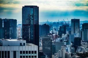 東京タワー展望台から見える東京の街並みの写真素材 [FYI03444781]