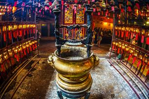 香港・文武廟の写真素材 [FYI03444846]