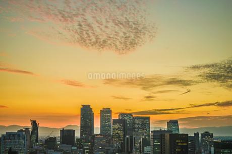 名古屋テレビ塔からの夕景の写真素材 [FYI03444856]