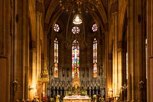 ザグレブ大聖堂の写真素材 [FYI03445185]