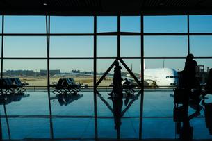 北京国際空港ターミナルのイメージの写真素材 [FYI03445531]