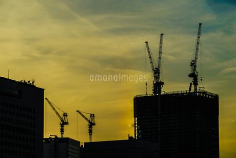横浜・みなとみらいの都市開発風景(2018年11月)の写真素材 [FYI03445621]
