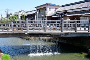 水郷佐原のジャージャー橋の写真素材 [FYI03445707]