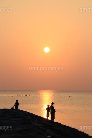 夕日の写真素材 [FYI03445902]