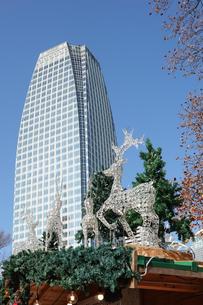 芝公園のクリスマスマーケットの写真素材 [FYI03445967]