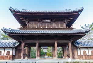 建仁寺三門の写真素材 [FYI03446029]