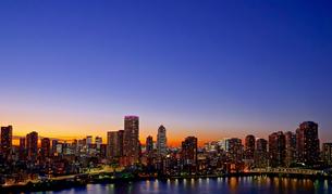 東京摩天楼の写真素材 [FYI03446141]