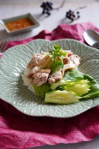 タイ料理 カオマンガイの写真素材 [FYI03446152]