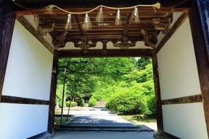 山の辺の道 長岳寺の写真素材 [FYI03446407]