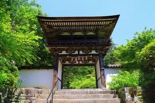 山の辺の道 長岳寺の写真素材 [FYI03446408]