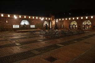 夜の倉敷の町並み 美観地区の写真素材 [FYI03446509]