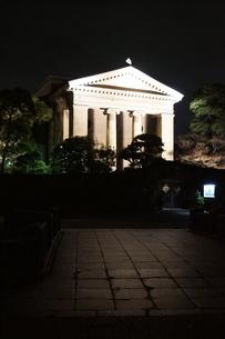 夜の倉敷の町並み 美観地区の写真素材 [FYI03446525]