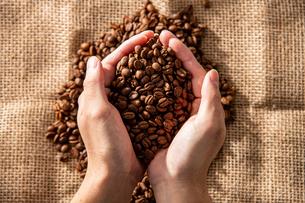 Coffee beansの写真素材 [FYI03446824]