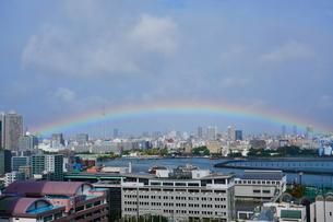 エンペラーウェザーの虹の写真素材 [FYI03447142]