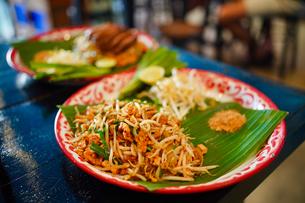 タイ料理 パッタイの写真素材 [FYI03447160]