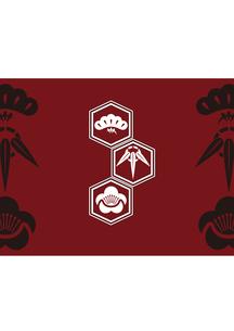 松竹梅をモチーフにした和柄背景素材のイラスト素材 [FYI03447240]