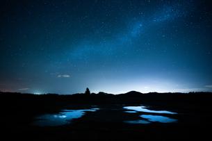 天の川の写真素材 [FYI03447366]