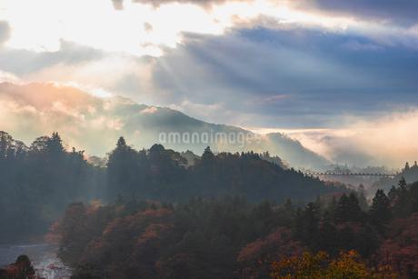 奥多摩の秋の写真素材 [FYI03447383]