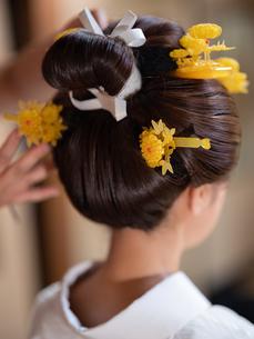 花嫁の準備風景の写真素材 [FYI03447555]
