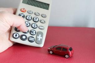 車の購入イメージの写真素材 [FYI03447637]