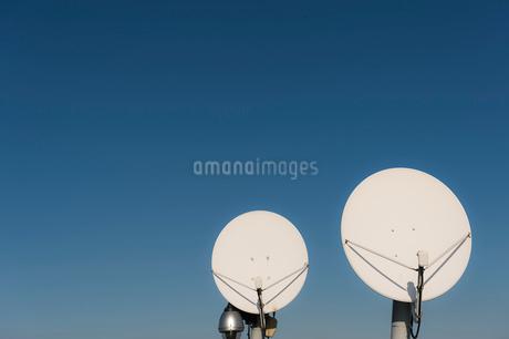 パラボラアンテナの写真素材 [FYI03447781]