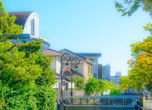 芦屋市の街並みの写真素材 [FYI03447806]