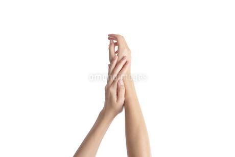 手入れされた指先03の写真素材 [FYI03448145]