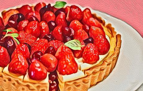 苺のタルトのイラスト素材 [FYI03448924]