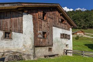 スイス、マイエンフェルトの風景の写真素材 [FYI03449210]
