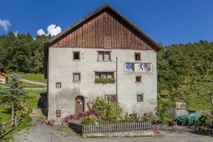 スイス、マイエンフェルトの風景の写真素材 [FYI03449211]