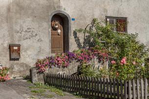 スイス、マイエンフェルトの風景の写真素材 [FYI03449214]