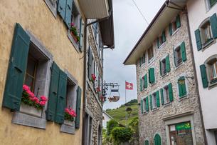 スイス、ラヴォー地区エペスの写真素材 [FYI03449279]