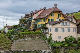 スイス、ラヴォー地区エペスの写真素材 [FYI03449282]