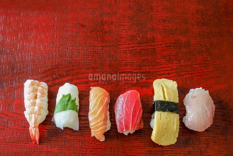 握り寿司の写真素材 [FYI03449377]