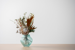 Beautiful bouquet with copy spaceの写真素材 [FYI03449425]