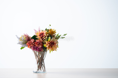 Beautiful bouquet with copy spaceの写真素材 [FYI03449426]
