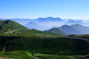 乗鞍岳から望む穂高連峰の写真素材 [FYI03449473]