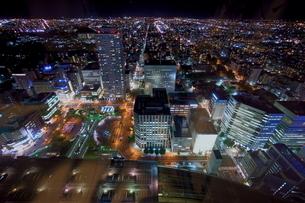 札幌の夜景の写真素材 [FYI03449622]