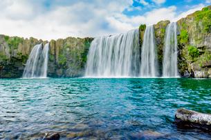 原尻の滝の写真素材 [FYI03449623]