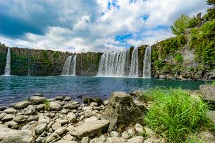 原尻の滝の写真素材 [FYI03449633]