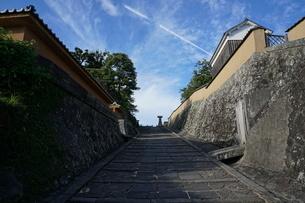 杵築の城下町の写真素材 [FYI03449642]