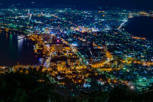 函館の夜景の写真素材 [FYI03449649]