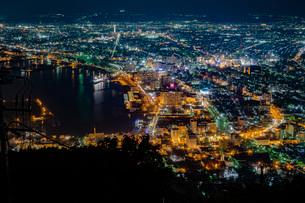 函館の夜景の写真素材 [FYI03449652]