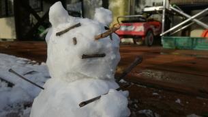 雪ダルマの写真素材 [FYI03449653]
