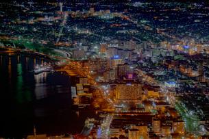 函館の夜景の写真素材 [FYI03449655]