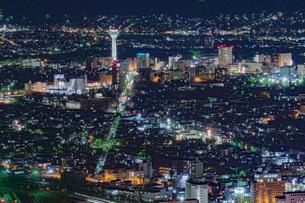 函館の夜景の写真素材 [FYI03449656]