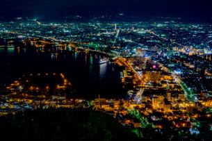 函館の夜景の写真素材 [FYI03449658]